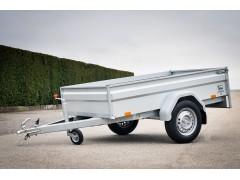 Mono-axle without brake